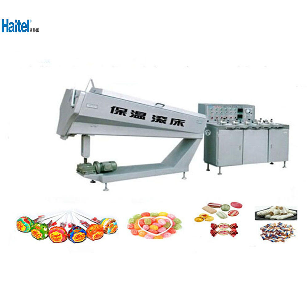 High quality mini candy batch roller and rope sizer machine in shanghai