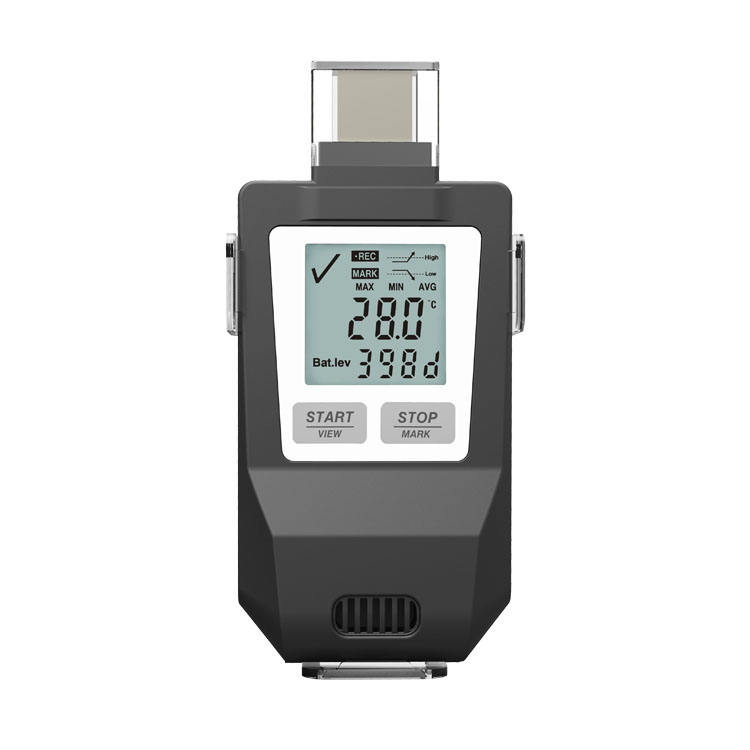 Fresh Keeper 1 temp and humidity data logger display temperature humidity recorder digital