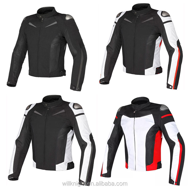 Super Speed Men's Textile Motorcycle Riding Jacket for Men SPR Racing jacket with Protectors and Windproof Lining