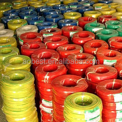 450/750V pvc insulated electrical cable wire 3mm