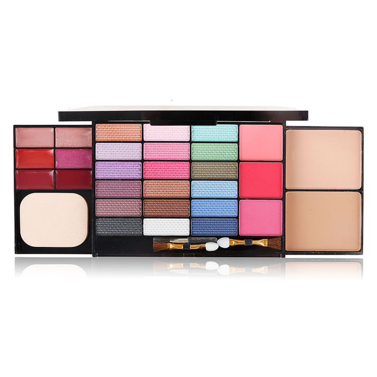 Private Label 18 color eye shadow makeup set box earth color retro color eyeshadow box