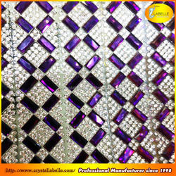 Rhinestone Trimming Metal Mesh