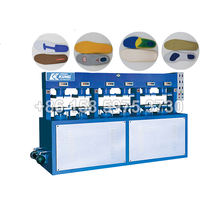 6 stations hydraulic cold press machine for shoe insole