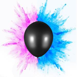 JILE Gender Reveal Balloon with Confetti or Powder