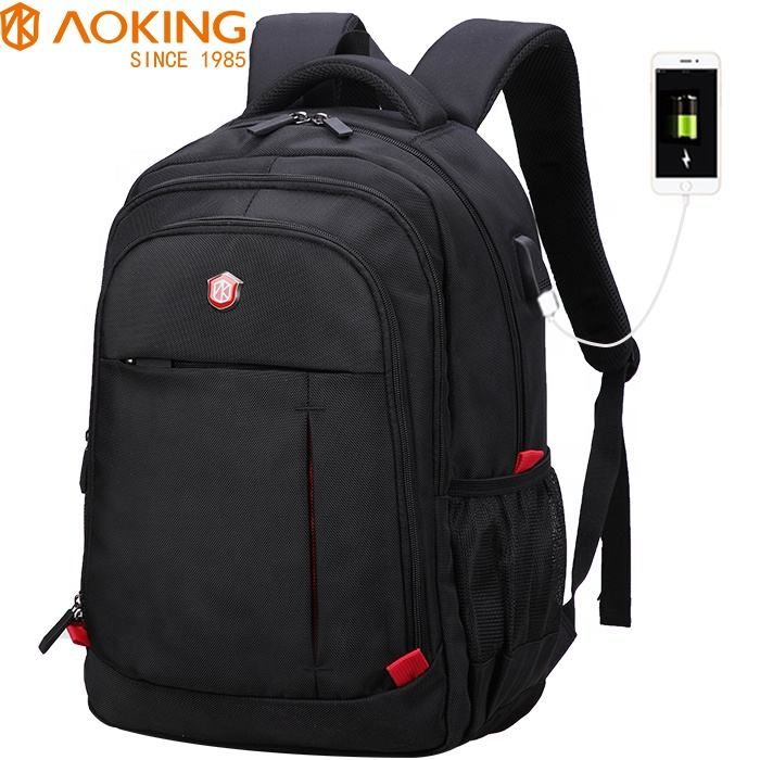 aoking smart bag backbag morrales sac a dos rucksack back pack backpack wholesale school backpack china with usb charger