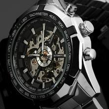 Mens top brand luxury Winner 340  Fashion 246  Skeleton Clock Sport Watch Automatic Mechanical Watches Relogio Masculino