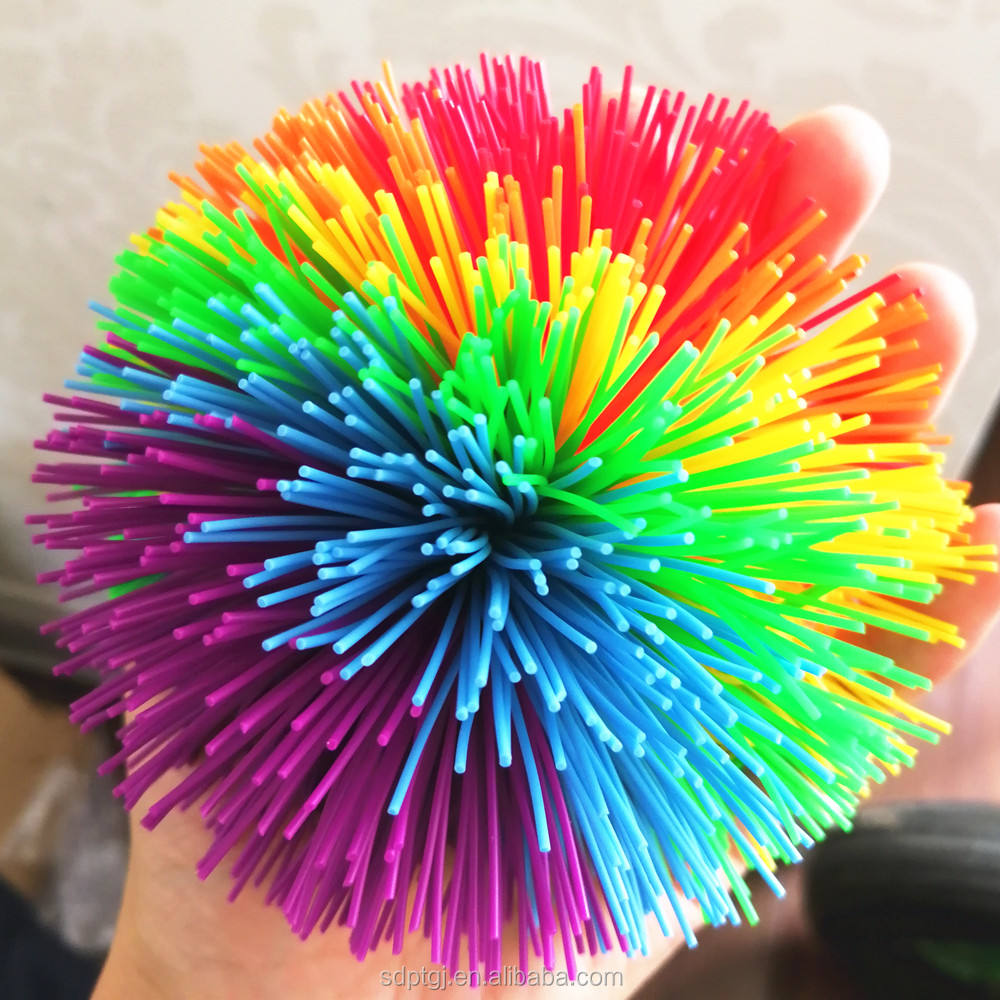 Hot sale 6cm 8cm 10cm stress relief silicone koosh balls