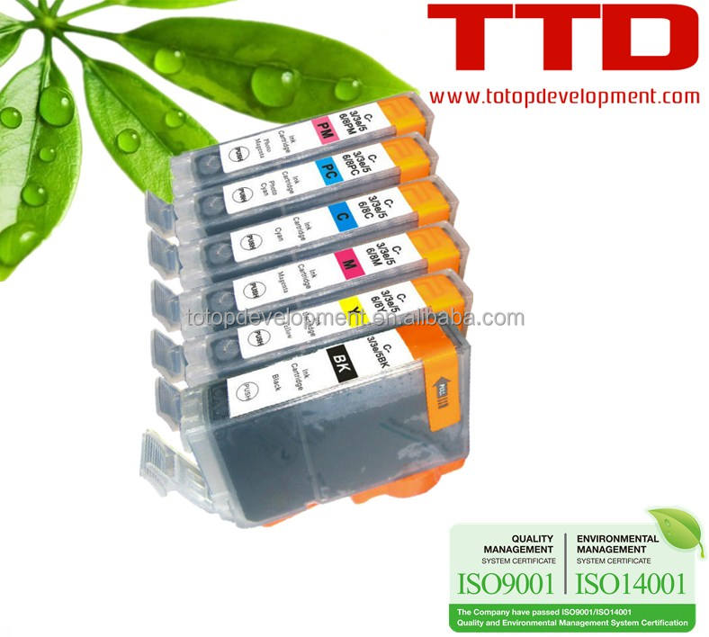 TTD Ink Cartridge BCI3 BCI6 for Canon S800/820/820D/900/9000/I950/I9100(BJF-860/870)/IP8500 /I9100