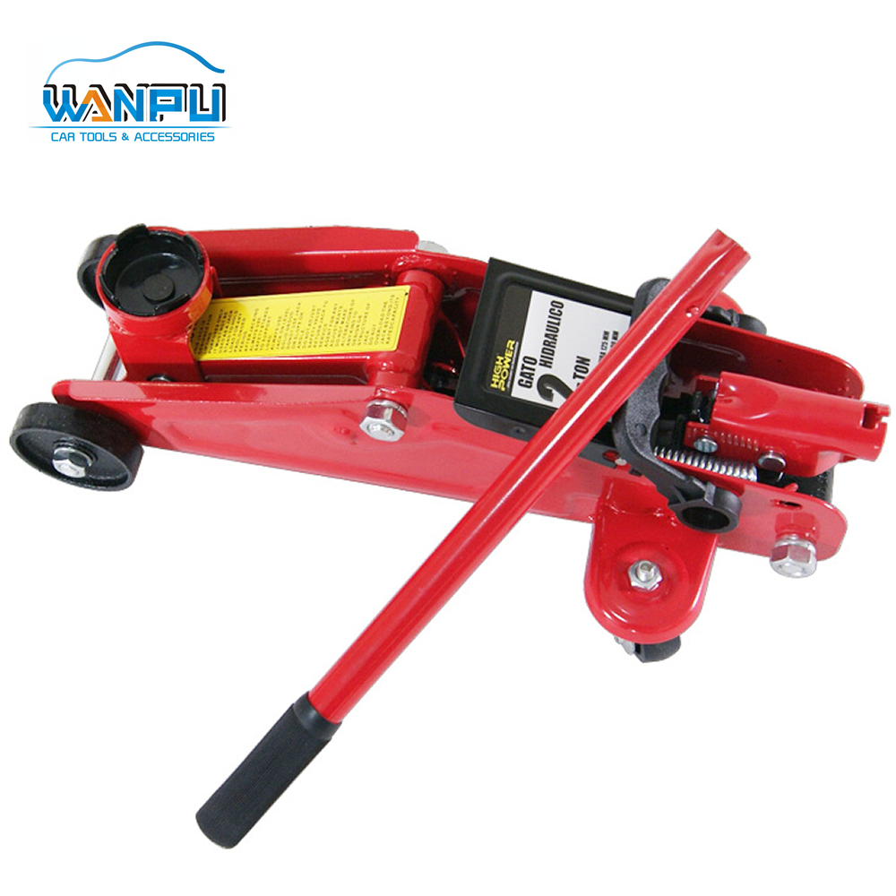 Wanpu Hight quality 2ton new style Hydraulic Floor Car Jack with TUV/GS certificate