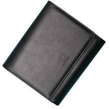 High Quality Debossed Logo PU Leather Vehicle Manual Auto Car Document Holder for Toyota