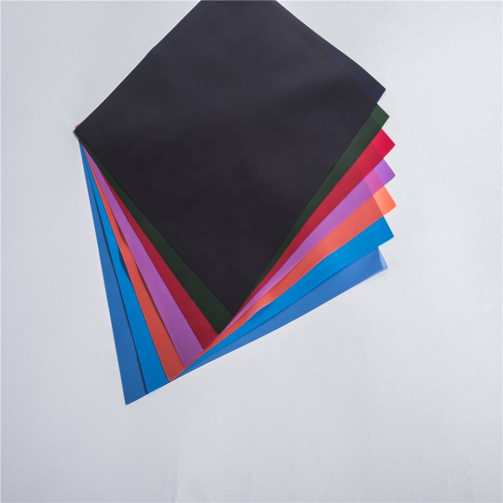 environmental 0.15mm 1370mm bluish violet tpu film for Fabric and Garment