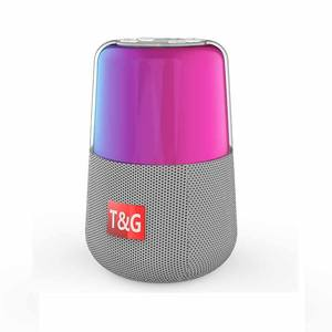 TG168 Mini Gigi Biru Speaker Portable Nirkabel Colorful LED Light Speaker Nirkabel Loudspeaker dengan FM Radio untuk