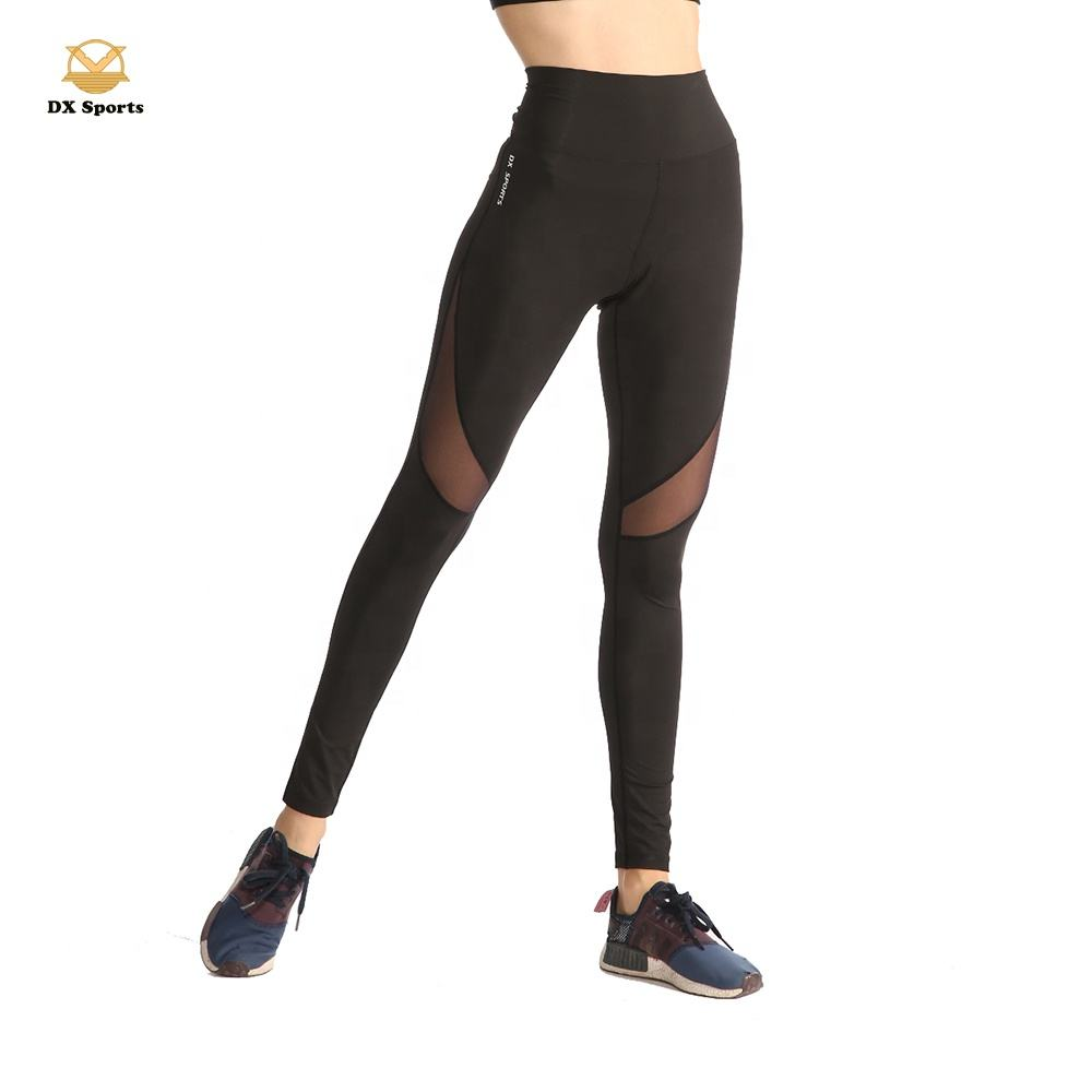 ladies nylon spandex high waisted sports compression sexy tight yoga legging/plus size yoga legging/young girl tight leggings