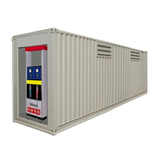 40 feet Container 2 tanks mobile fuel station filling station