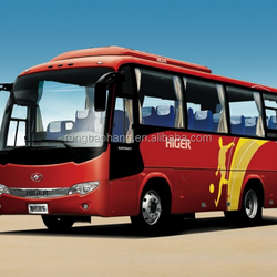 Hot sale Higer V7 KLQ6796 coach bus