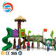 2017 Funmax Plastic slide and mushroom playhouse for children sports and fitness outdoor playground equipment