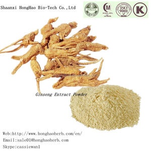 Free Sample Korean Red Ginseng Extract Gold