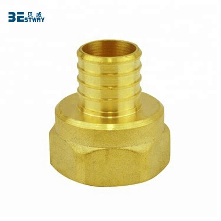 Lead Free Brass Pex Female Adapter Pipe Fitting with CSA