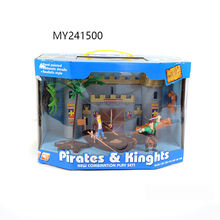 Hot Sale kids pirate mini toy,pirate ship,pirate set pirate