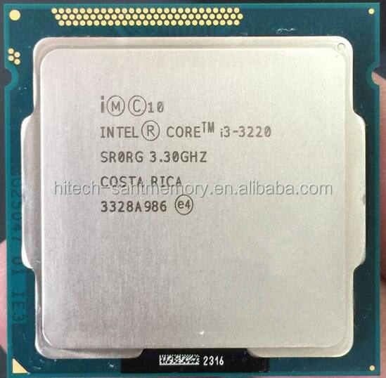 Intel Core i3-3220 3.3GHz SR0RG 3M Desktop Processor CPU i3 3rd Gen
