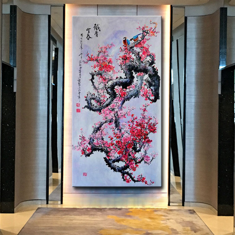 Handmade Original Famous Ancient Traditional Canvas Wall Art Chinese Oil Painting