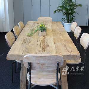 chinese antique reclaimed salvaged dining table kitchen furniture. wooden KD dinning table