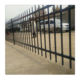 Spear Top Garden Fence Panel and Sliding Gate