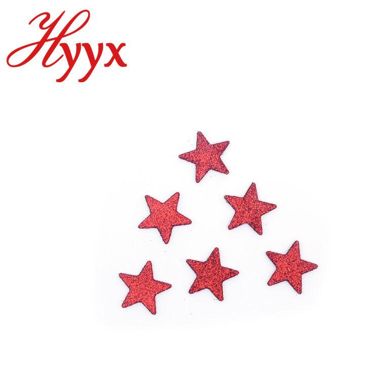 Hyyx новые индивидуальные серебряный блеск пять звезда несколько звезда рождественские украшения