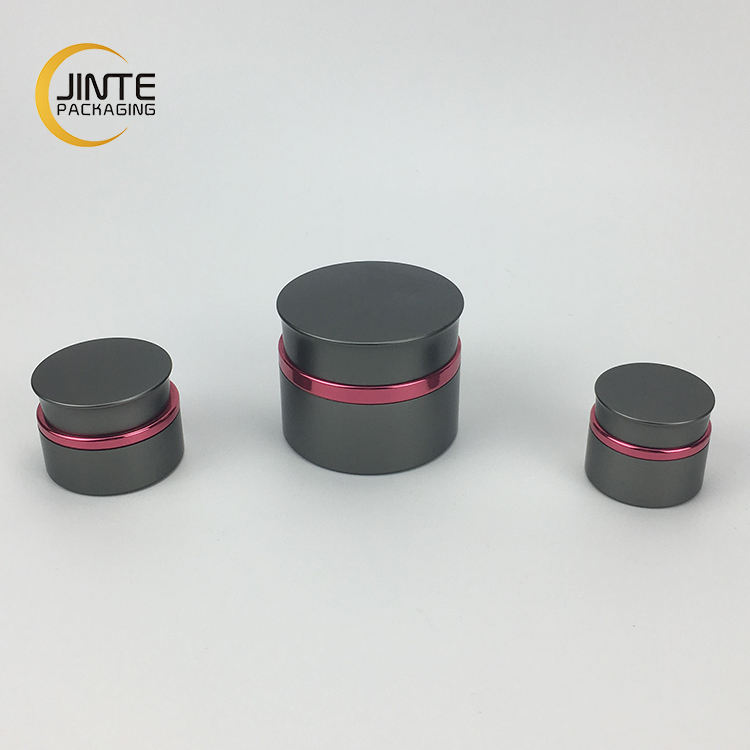 Jinte Packaging wholesale 5g 15g 30g 50g empty aluminum UV nail gel jar for cosmetics