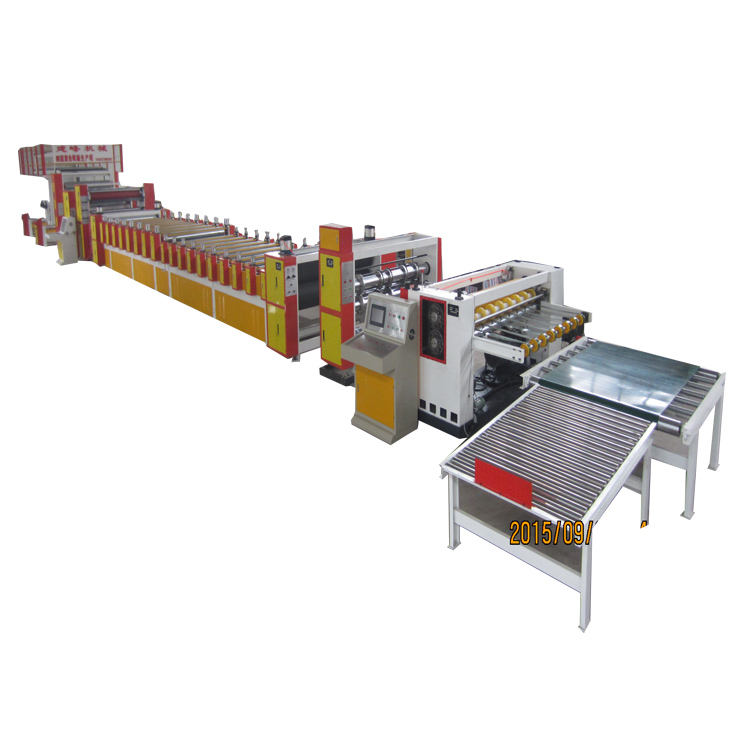 PLC automatic packing machine hard cardboard production line