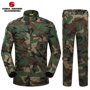 TC 65/35 Ripstop Woodland Camouflage ACU Camo Fatigue Combat Pants Tactical Army uniform