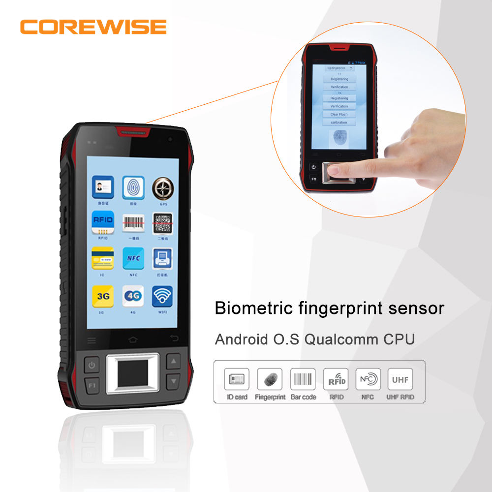 Handheld portable capacitive FBI 508dpi large live biometrics fingerprint reader module
