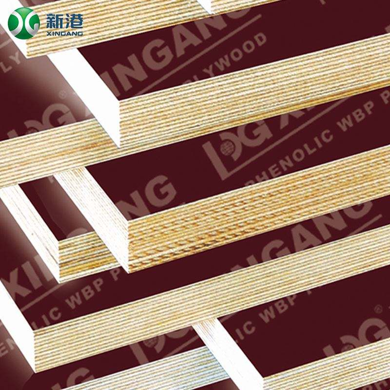 Linyi factory film faced shuttering plywood /Shuttering plywood/concrete formwork plywood with good price for construction usage