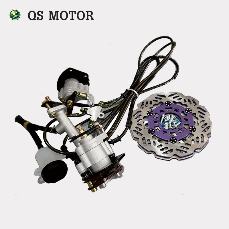 Electric Tricycle Car Vehicle Disc Brake Master Cylinder Hydraulic Caliper Assembly by Foot or Hand