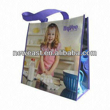 BY-031 cangnan BOYU wholesale reusable shopping bag eco shopping laminated non woven bag pp non woven bag