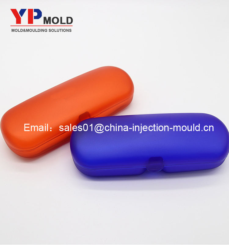 China Custom New design plastic spectacle case mould/plastic glasses box mould