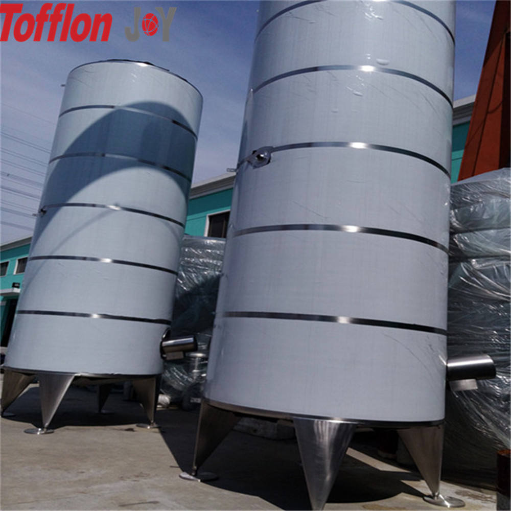 Custome Volume Raw Milk Storage Tank