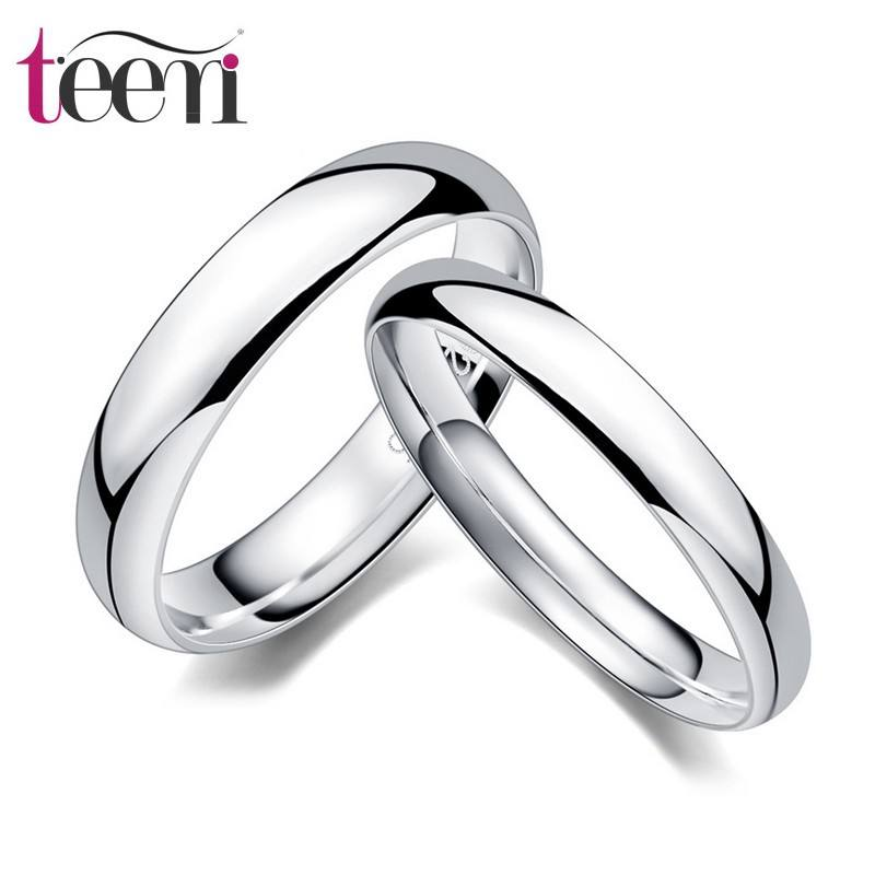 Teemi High Quality Wholesale Hot Sale 2015 Fashion S925 Sterling Silver Love forever Couple rings Lovers Wedding rings
