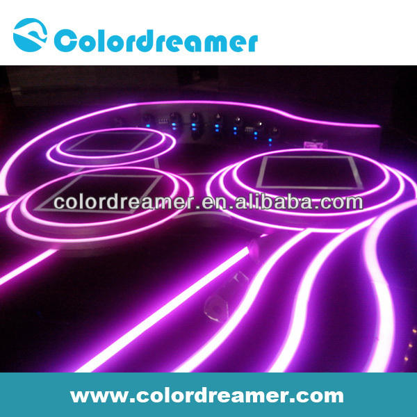 Colordreamer DMX RGB Led Lighting Carpet Strip 8W led light for floor mounted
