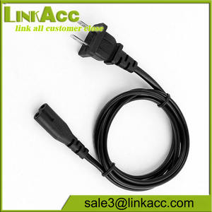 -Prong AC Power Cord Cáp Chì Cho Máy In HP Deskjet Scanjet Scanner Adapter