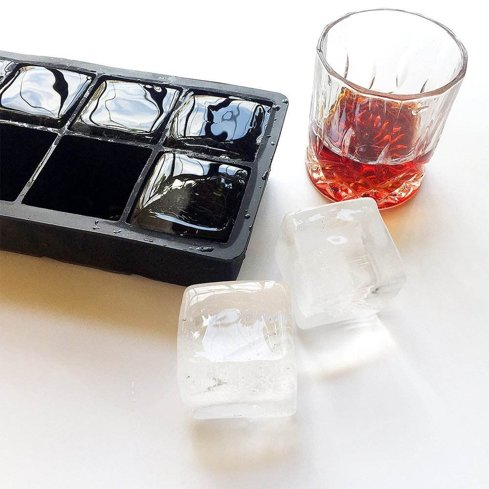 8 Cavities Silicone ice cube trays ice mold silicone for cube ice