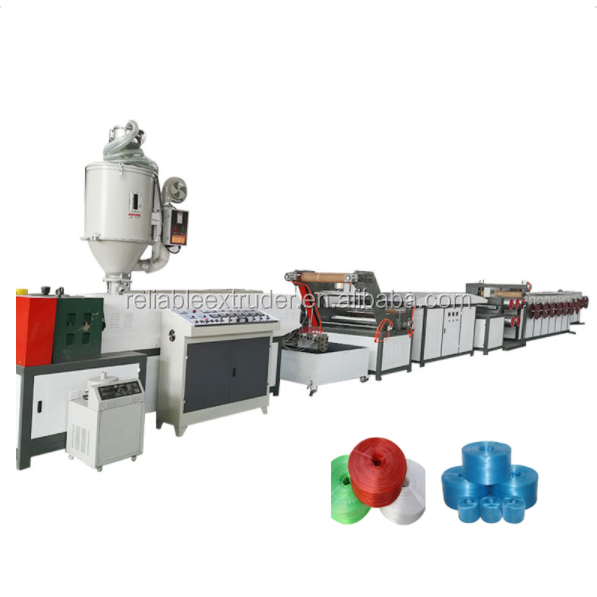 pp strapping belt making machine extruder factory