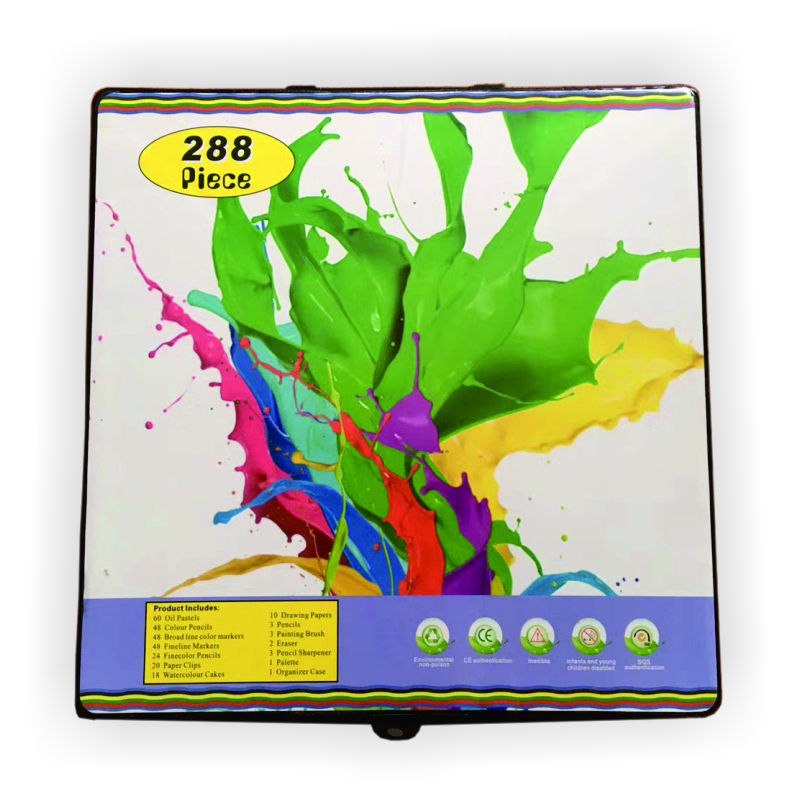 Art Coloring Set 288 Piece Art Set For Kids Painting Set School Supply Office Stationery List