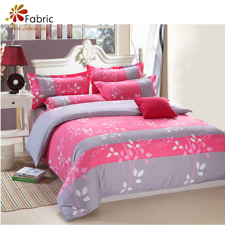 Customized luxury 100 cotton kids 4 piece bedding set