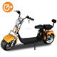 New style citycoco scooter 2000w electric scooter ce 2 seat fat tire off road adult electric motorcycle scooter
