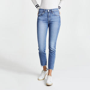 China Manufacture Wholesale Custom Denim Jeans Classic Skinny Women Jeans