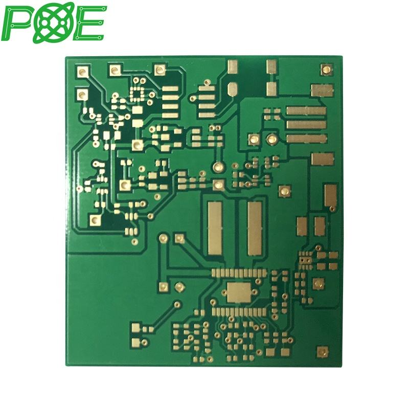 4 layer circuit board Red Green Blue solder PCB