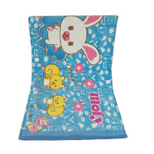Cheap wholesale towels clearance stock lots printed children cartoon face towel