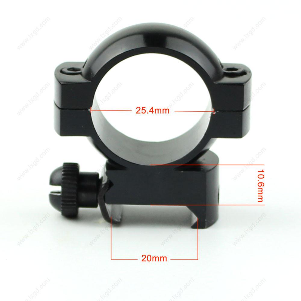 Großhandel gun magnetbefestigung seiten-& höhe ring-bereich-einfassung für 20mm Weben/Picatinny schiene halterungen anblick