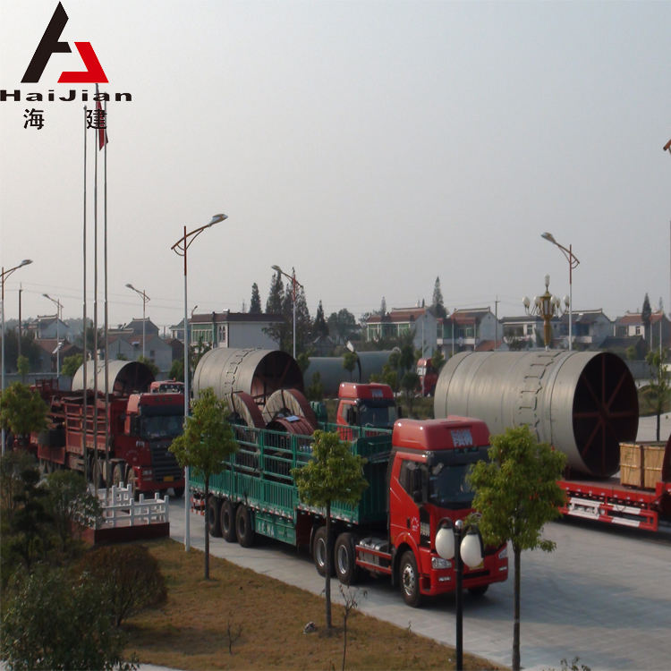 6000T/Day rotary kilns for cement ore